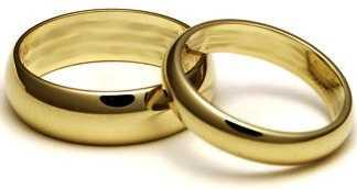 Cuanto cuestan unos anillos de boda