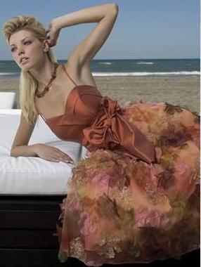 Vestido de Fiesta Matilde Cano