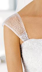 Mangas de vestido de novia