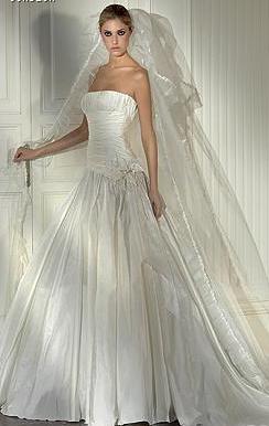 Vestido de Novia Pronovias Drapeado