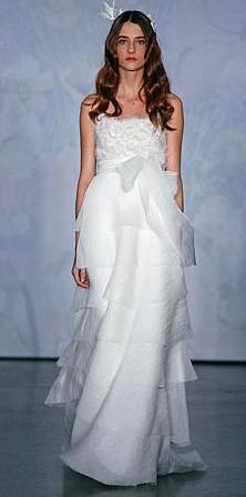 Vestido de novia Monique Lhuillier