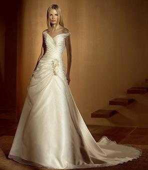 Vestidos de novia color perla