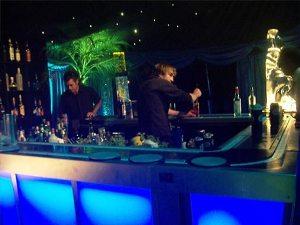 Open Bar en la recepción de la boda.jpa