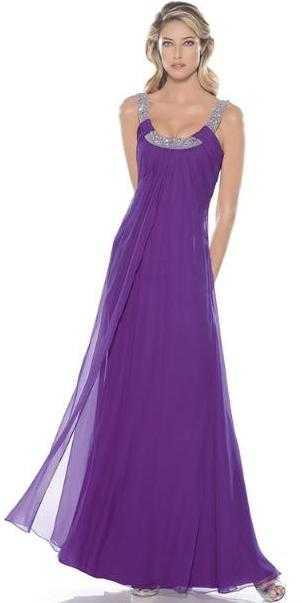 continuación una muestra de vestidos de fiesta en modelos largos ...