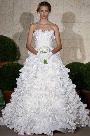 Vestido de novia Oscar de la Renta