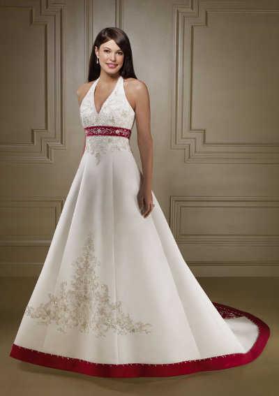 el rojo en los vestidos de novia | web de la novia
