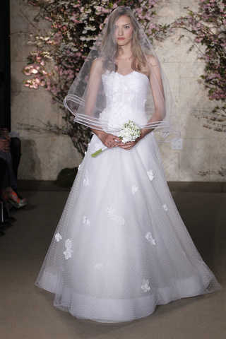 Colección 2012 de vestidos de novia de Oscar de la Renta