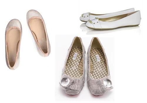 Que zapatos usar con el vestido de novia