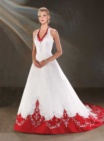 De blanco a negro, el color del vestido de novia. | Web de la Novia