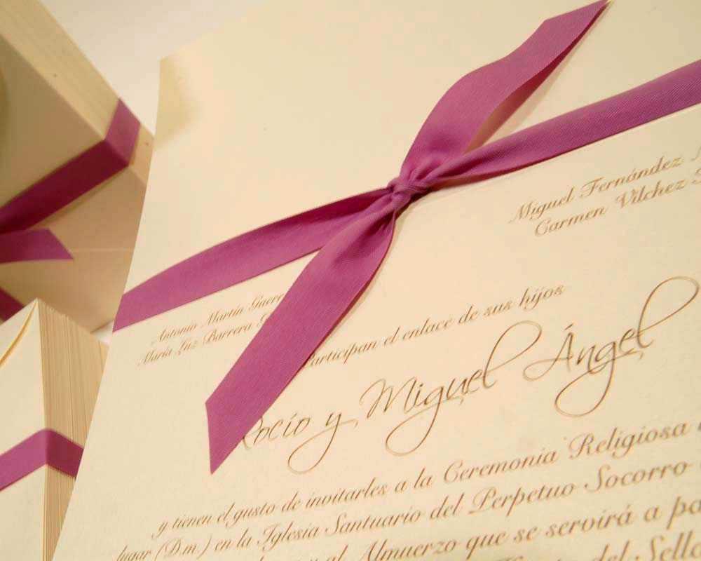 Invitaciones de boda | Web de la Novia