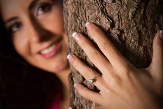 Alianzas de boda la historia web de la novia for En que mano se usa el anillo de compromiso