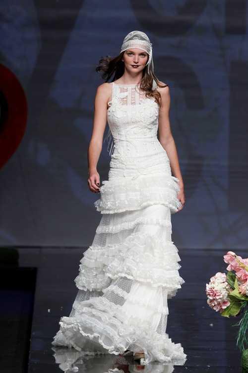 0ea66599b Vestidos de novia para una boda en el campo