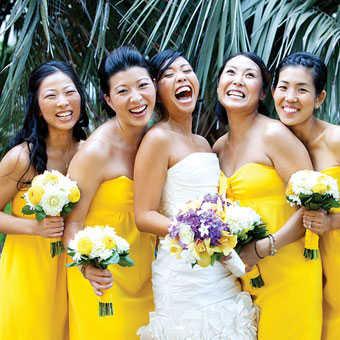 Vestidos para novias y damas