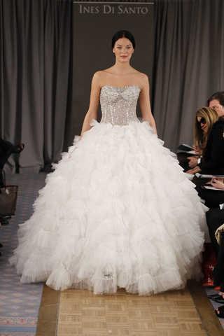 ines di santo y su colección 2012 de vestidos de novia | web de la novia