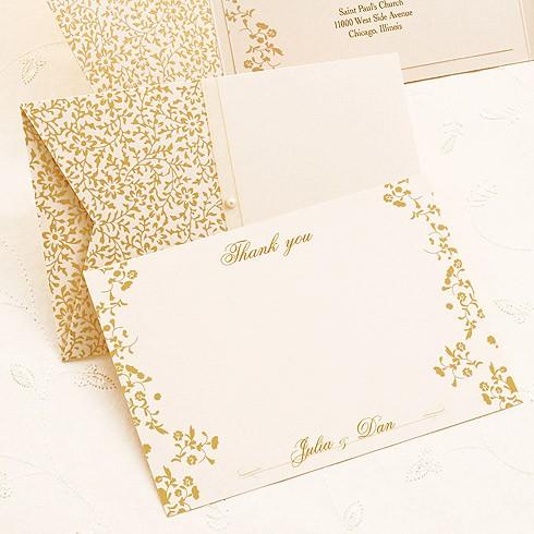 Tarjetas de agradecimiento de boda | Web de la Novia
