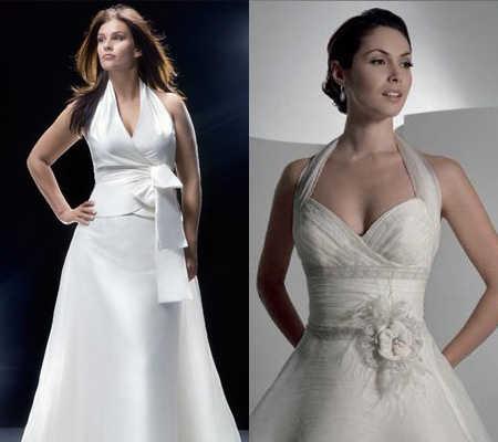 escotes de vestidos de novia: escógelo según tu tipo de cuerpo
