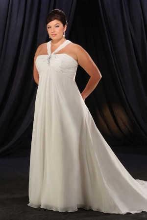 Vestidos para matrimonio religioso para gorditas