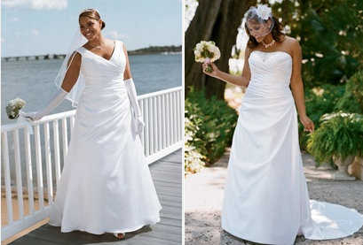 Vestidos de novia para chaparritas y gorditas
