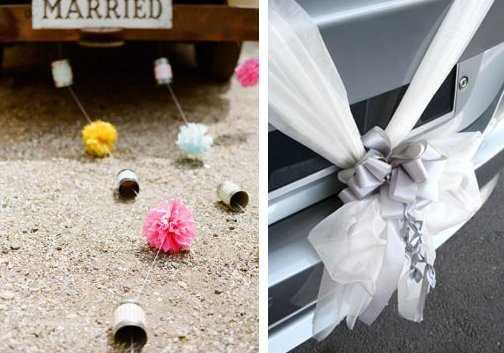Ideas para decorar el coche de novios web de la novia - Decoracion coche novia ...