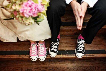Converse Con Vestido De Novia