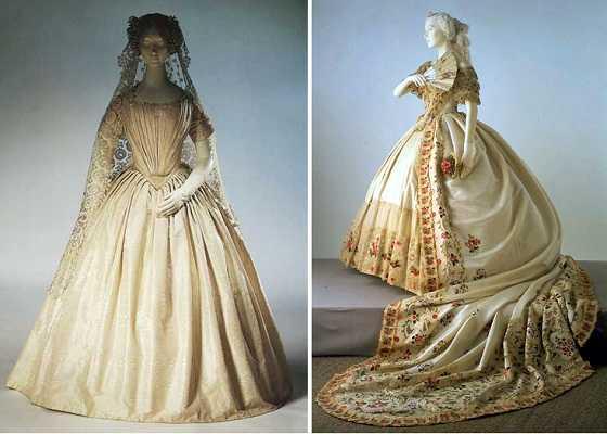 Vestidos de novia de epoca antigua