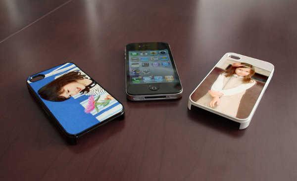 Utiliza las fotos de tu matrimonio como funda de celular