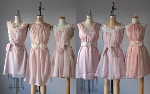 vestido-dama-honor-vintage