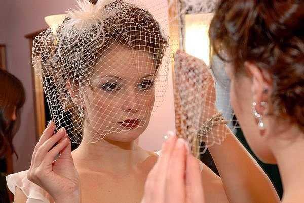 Velo estilo vintage para el día de tu boda