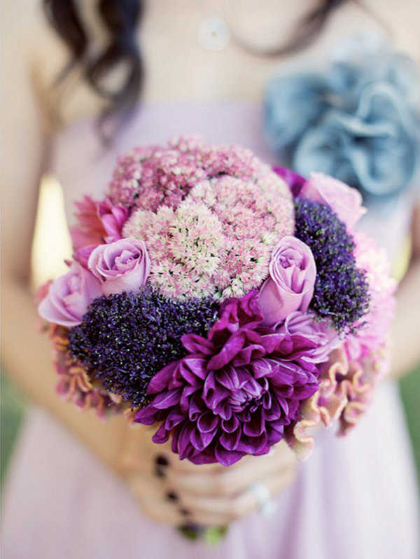El lila está de moda