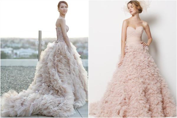 No pierdas la elegancia en tu vestido de novia color nude! | Web de ...