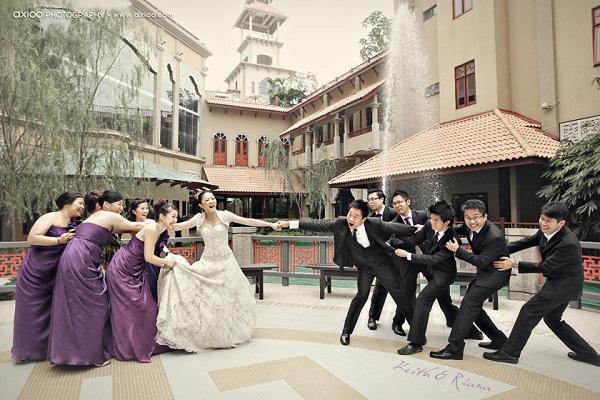 Dicen que tus mejroes amigos no querrán perderte después de tu boda... ¿será eso verdad?