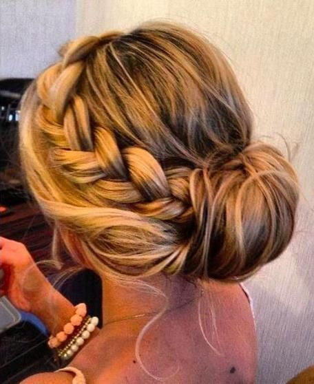 bride braid
