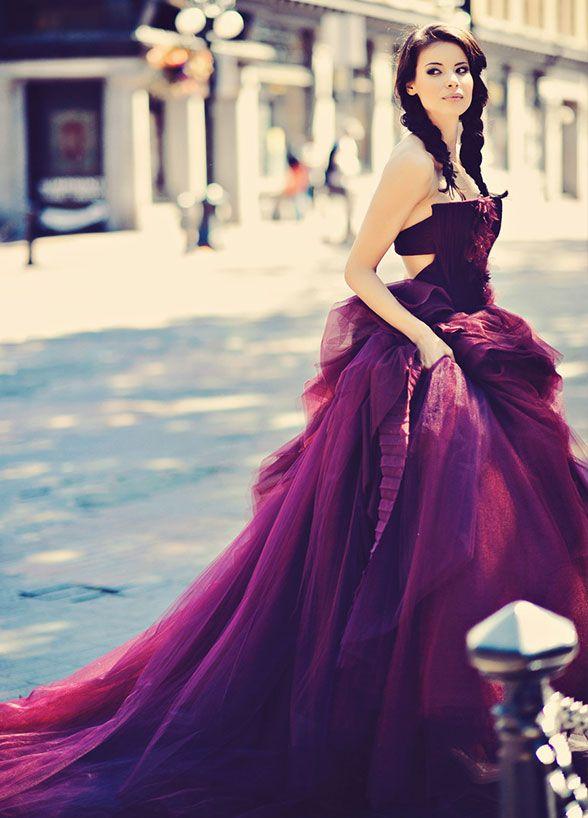 Una nueva opción: ¡Vestidos de novia de otros colores colores! | Web ...